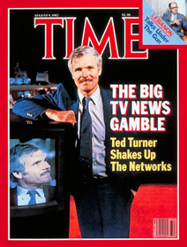 Ted Turner crea la CNN
