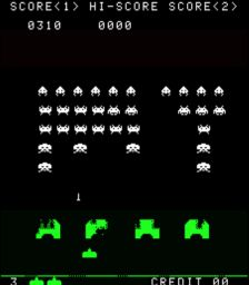 Contro gli alieni in space invaders