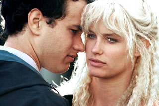 Tom Hanks e Daryl Hannah