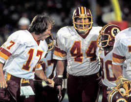 John Riggins guida i Redskins al superbowl