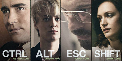 I 4 protagonisti di Halt and catch fire